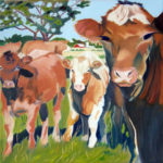 SOLD • The Neighbour's Cows